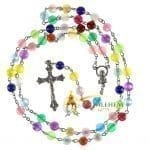 Multi color Cat Eye Beads Rosary