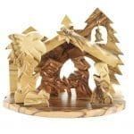 Wooden Nativity from Bethlehem