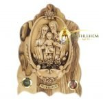 Holy Family Water Font Plaque