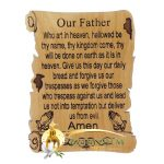 The Lord's Prayer Magnet English
