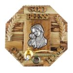 God Bless Our Home Blessed Mother and Child Large-1