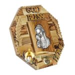 God Bless Our Home Blessed Mother and Child Large-22