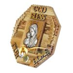 God Bless Our Home Blessed Mother and Child Large-4