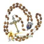 Olive Wood Chain Rosary-22