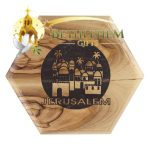 Rosary Box with Jerusalem City-03-a