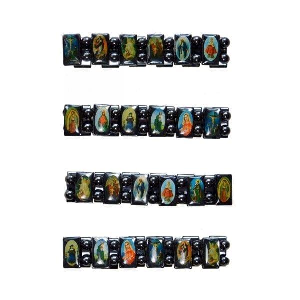 Hematite Religious Bracelet-02-a