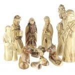 Olive Wood Nativity Figurines-09