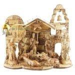 Olive Wood Nativity Set-03