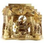 Olive Wood Nativity Set-10