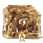 Olive Wood Nativity Set-11