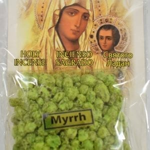 Myrrh Incense of the Holy Land