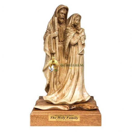 Olive Wood Large Holy Family from Bethlehem