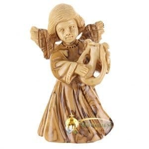 Wooden Angel Figurines For Sale Bethlehem Gifts