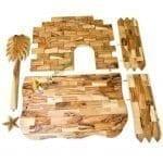 Olive Wood Manger-12