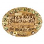 Last Supper Plaque Oval