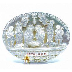 Mother of Pearl Nativity Scene from Bethlehem