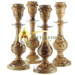 Olive Wood Candle Holder from Bethlehem