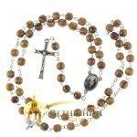 Olive Wood Chain Rosary-17