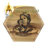 Rosary Box with Blessed Mother and Child-02-b