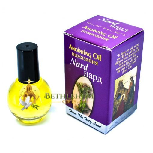 Anointing Oil of the Holy Land-Nard from Jerusalem