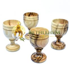 Olive wood Small Communion Cup from Bethlehem