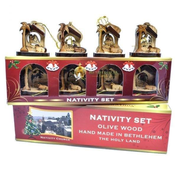 Nativity Christmas Ornament-01