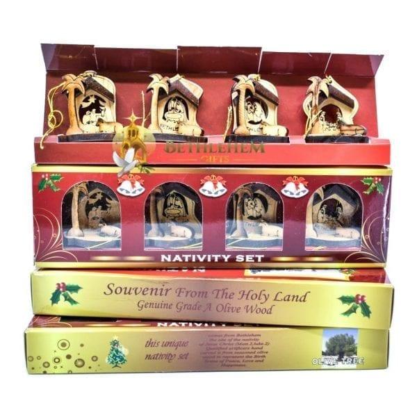 Nativity Christmas Ornament-01a