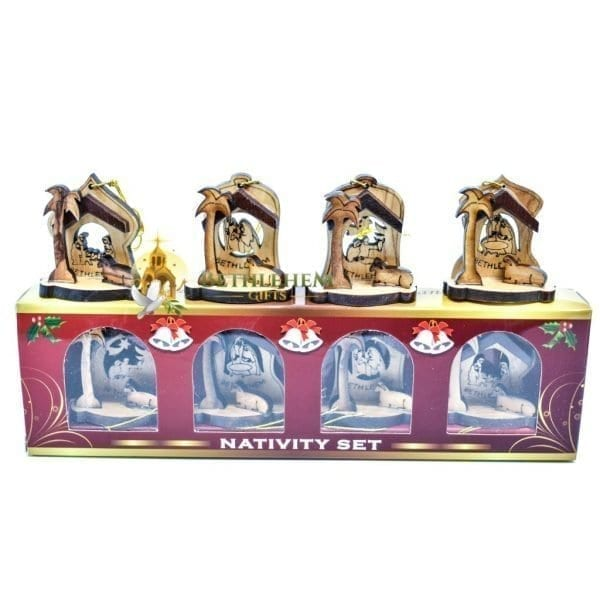 Nativity Christmas Ornament-01b