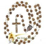 Olive Wood Chain Rosary-09