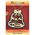 Wooden Christmas Tree Ornament laser-24