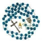 Blue Stone Rosary