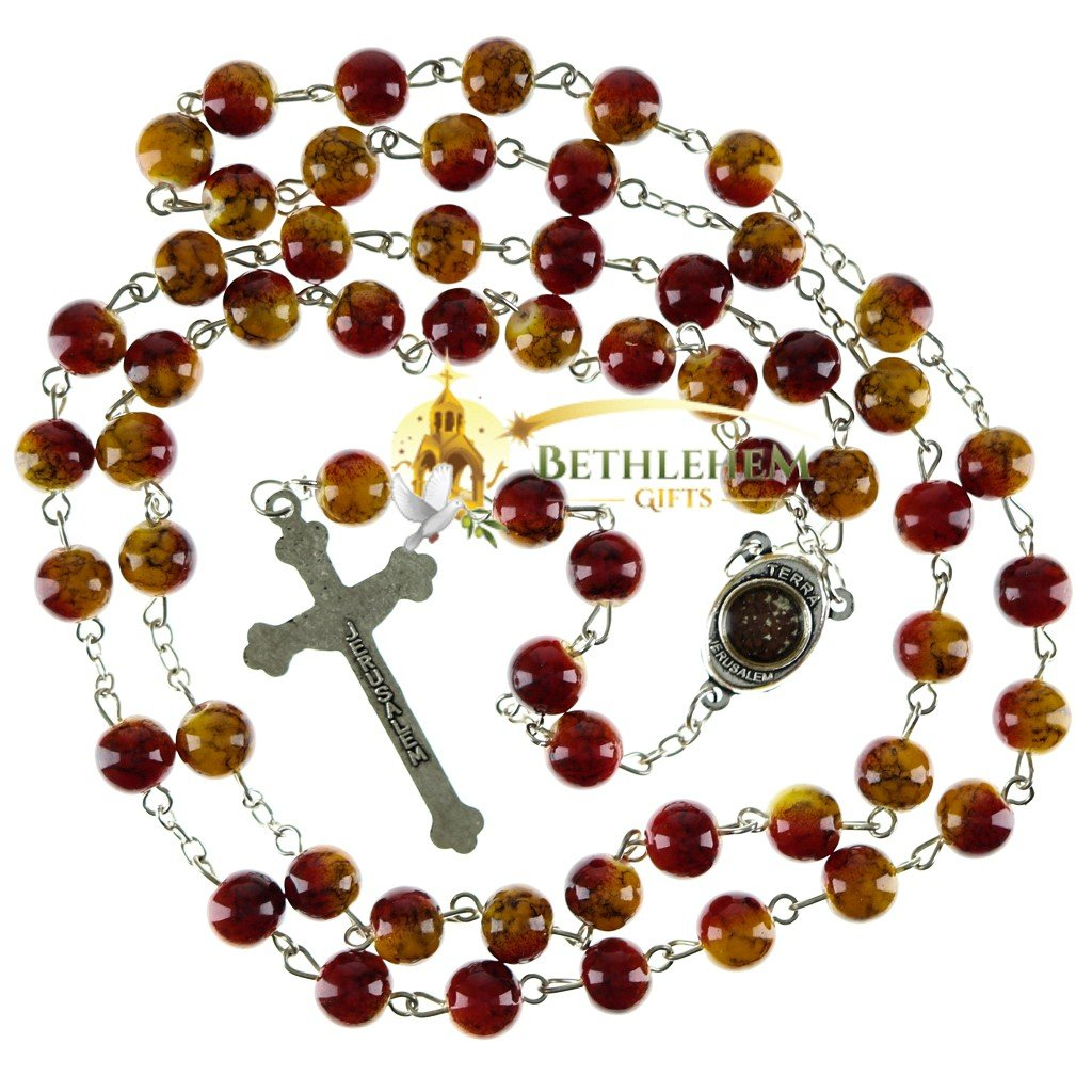 Colored Stone Rosary-01-back