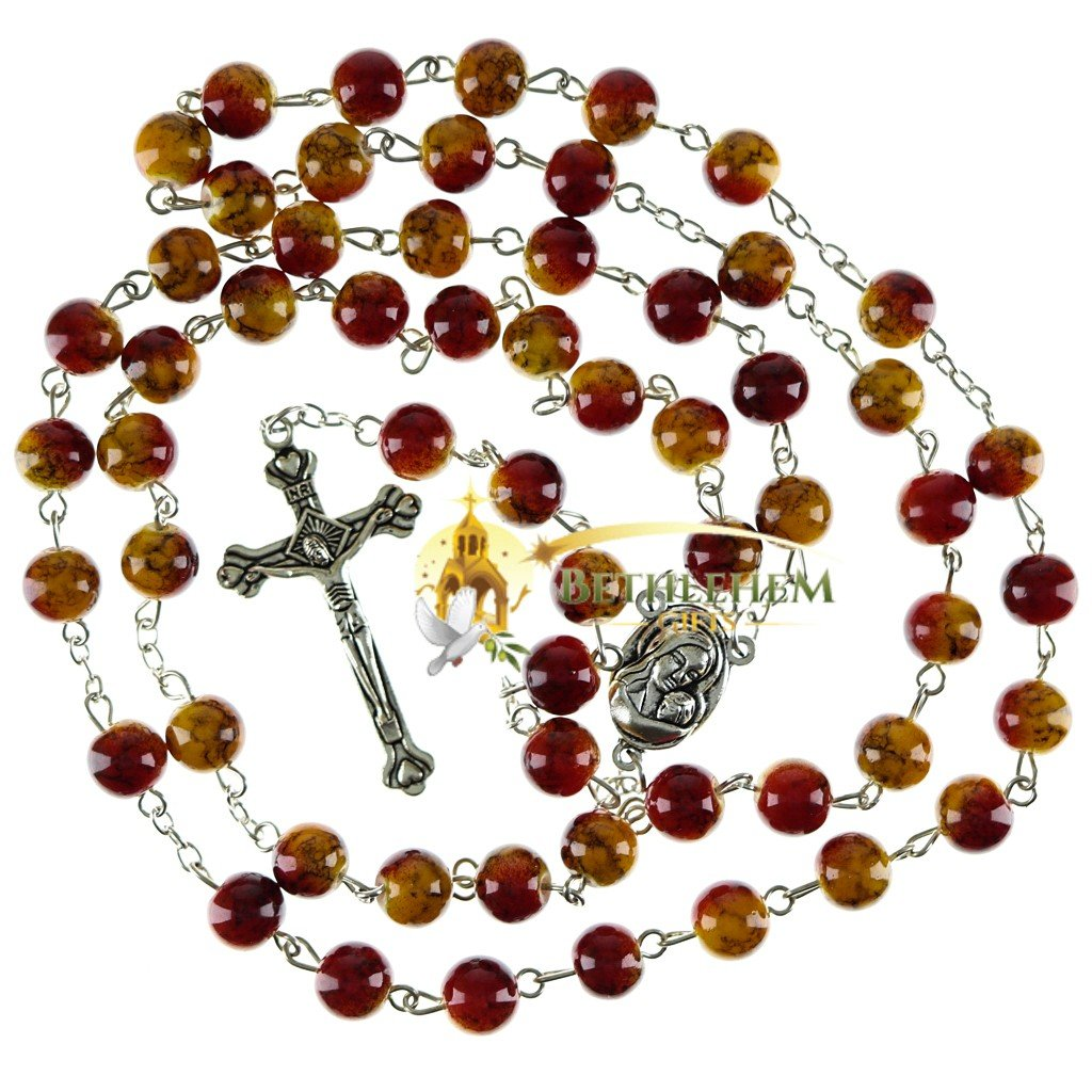 Colored Stone Rosary-01