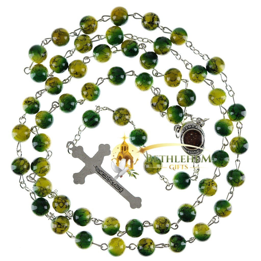 Colored Stone Rosary-02-back