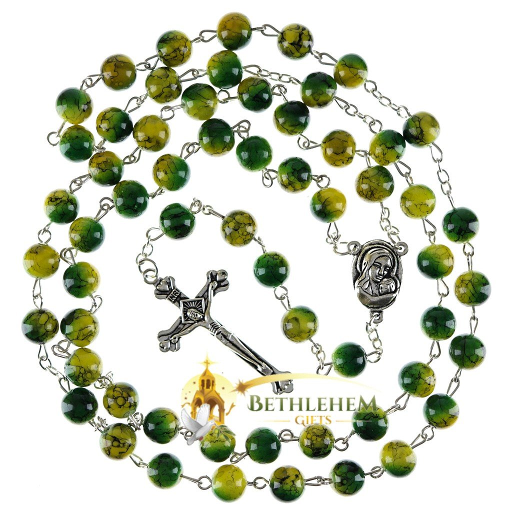 Colored Stone Rosary-02