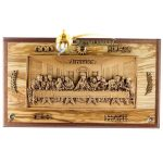 Large Olive Wood Last Supper-A