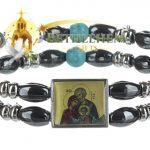 Elastic Hematite Beads Bracelet-2