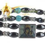 Elastic Hematite Beads Bracelet-2-a