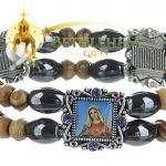 Elastic Hematite Beads Bracelet-3
