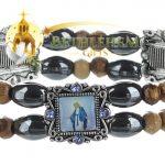 Elastic Hematite Beads Bracelet-3-a