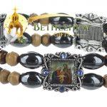 Elastic Hematite Beads Bracelet-3-b