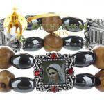 Elastic Hematite Beads Bracelet-4