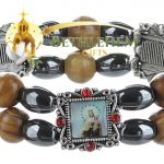 Elastic Hematite Beads Bracelet-4-b