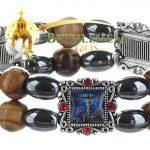 Elastic Hematite Beads Bracelet-4-c