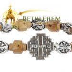 Elastic Jerusalem Cross Bracelet-3