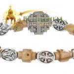 Elastic Jerusalem Cross Bracelet-3-a