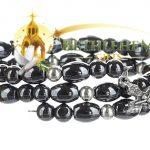 Hematite Spring Wire Bracelet